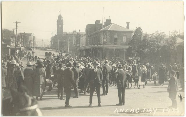 Pictures of ANZAC Day from around Australia 1920