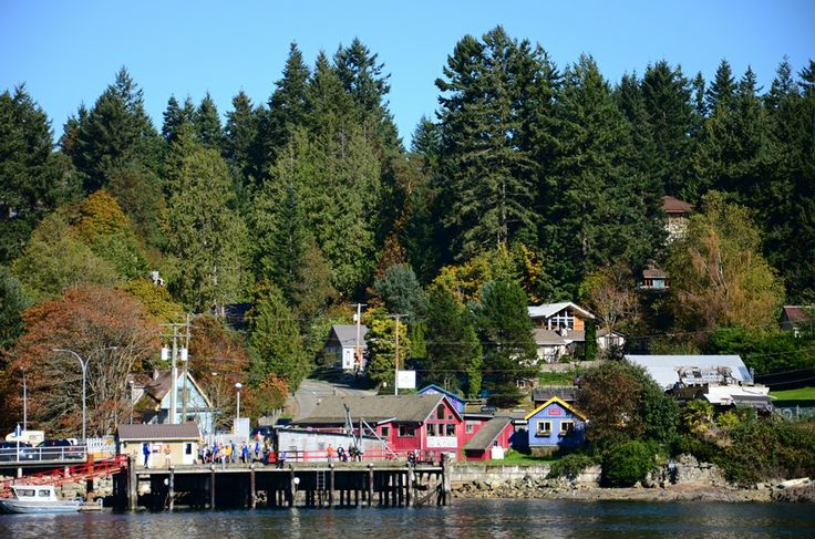 Fulford Village, Salt Spring Island