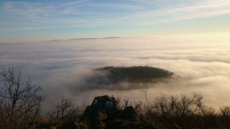 Felhők felett a Börzsönyben