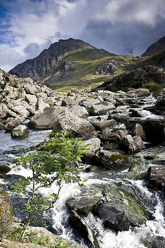 Tryfan, North Wales, UK