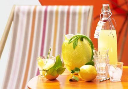 Wenn Dir das Leben eine Zitrone gibt, mach Limonade daraus. Prima Idee! Die selbst gemachte Limo ist im Sommer wunderbar erfrischend. Hier kommt das Rezept...