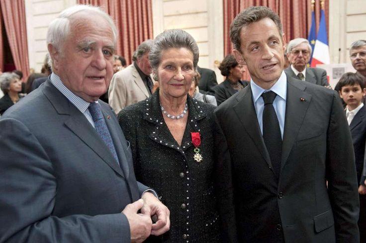 Mort de Simone Veil : une vie exceptionnelle en images - Officier de la Légion d'Honneur 2009