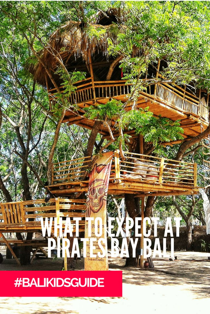 Are your kids obsessed with pirates? Yes! Well then this Nusa Dua spot is just perfect.