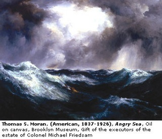 Thomas Moran Angry Sea by artimageslibrary, via Flickr