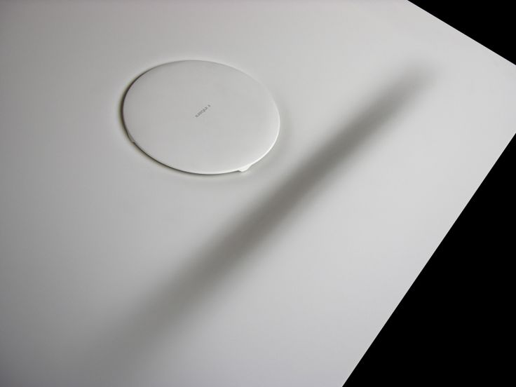 Corian shower tray by Inbani #bathroom #design
