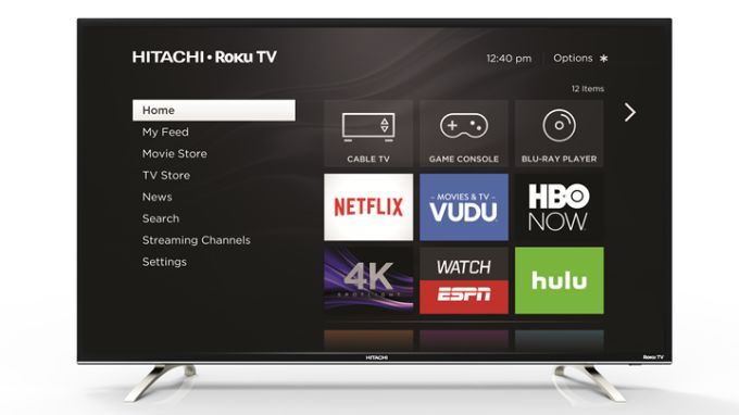 4K Hitachi TVs with Roku built-in are coming to a Sams Club near you