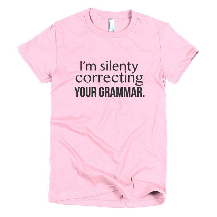 Grammar women's t-shirt