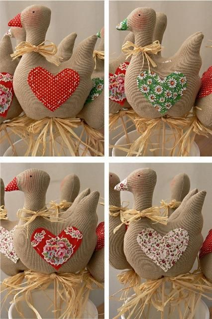 FABRIC DUCKS
