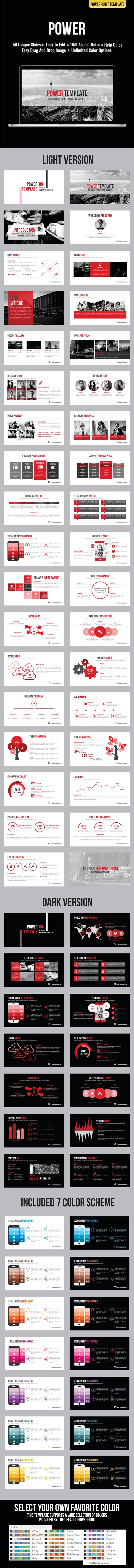 Power Template - Business PowerPoint Templates