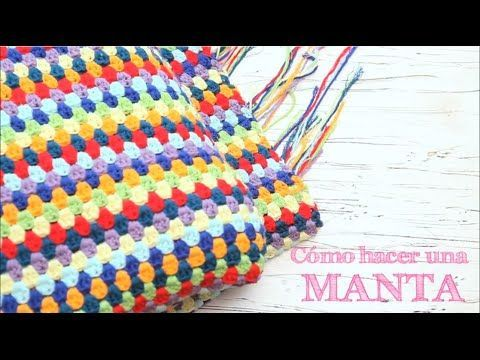 Cómo calcular la lana para una manta de ganchillo   How to calculate yarn for a crochet blanket - YouTube