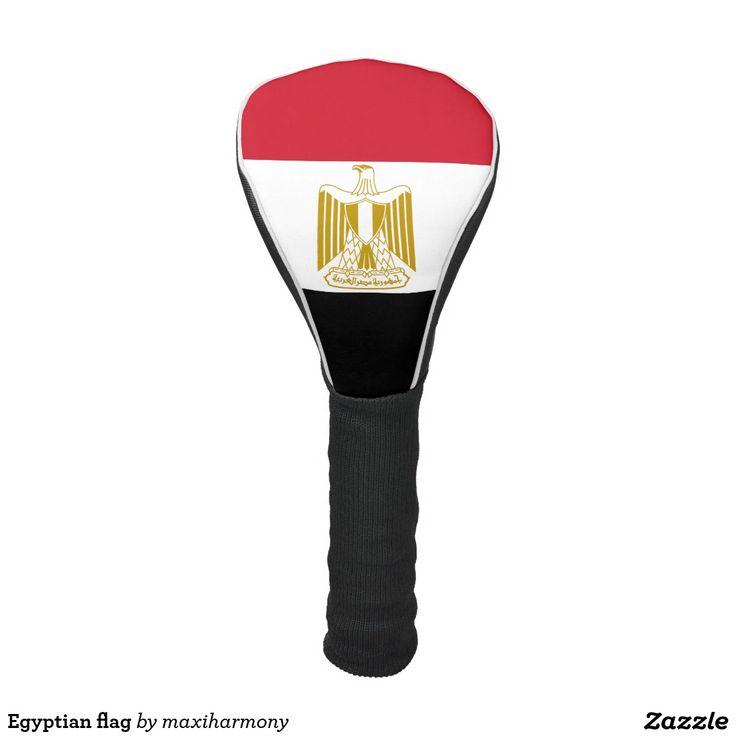Egyptian flag golf head cover