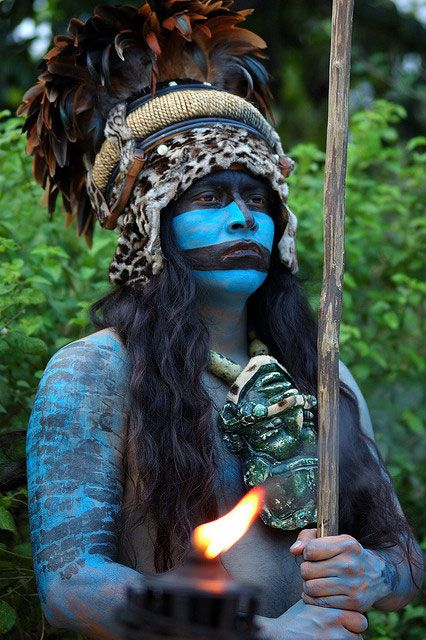 Maya blue is the brilliant long-lasting pigment that coloured the Maya world and is one of just a handful of man-made pigments known to the ancient world. It had special significance to the Maya , and was associated with sacrifice and Maya deities, including the rain god Chaak.