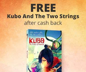 """How to get this freebie :1. Visit the offer here2. Create your account with an email and password3. Click on the """" Get Cashback"""" button and it'll take you to Walmart. If you are on mobile you'll need to scroll down and click """" View Desktop Site"""" or you won't see the button.4. Add 1 """"Kubo and the Two"""