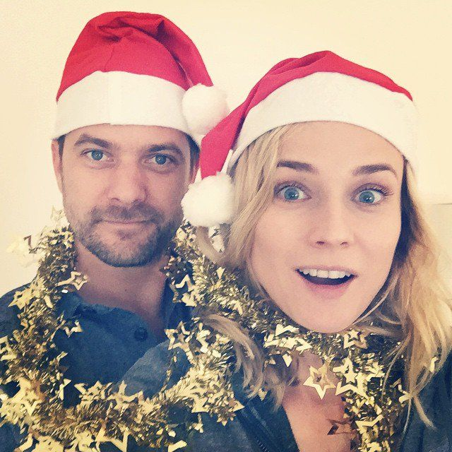 Pin for Later: Diane Kruger and Joshua Jackson Take the Perfect Holiday Selfie