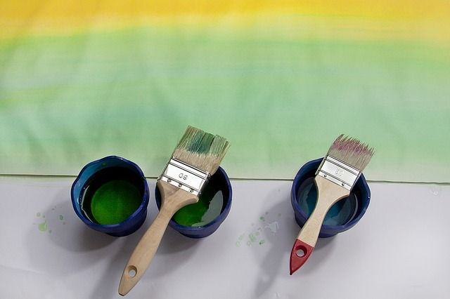 Thermoelectric Paint: Color and Electric Power In One