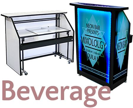 Trade Show Booth Bar Portable Google Search Led Light Up