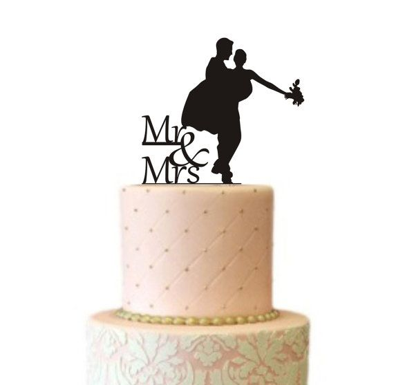 how to make a cake topper with silhouette cameo