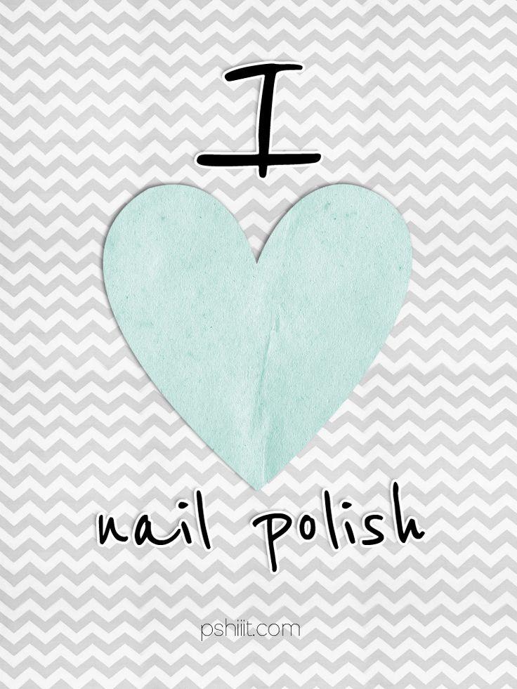 Ipad Wallpaper Mint & gris: Love Nails, I 3Nail Polish, Awesome Nails, Extreme Nails, Nails Polish, Creative Nails, Nails Guide, Applying Polish, Polish Truths