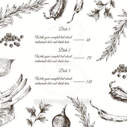 vector meat steak sketch drawing designer template. food hand drawn