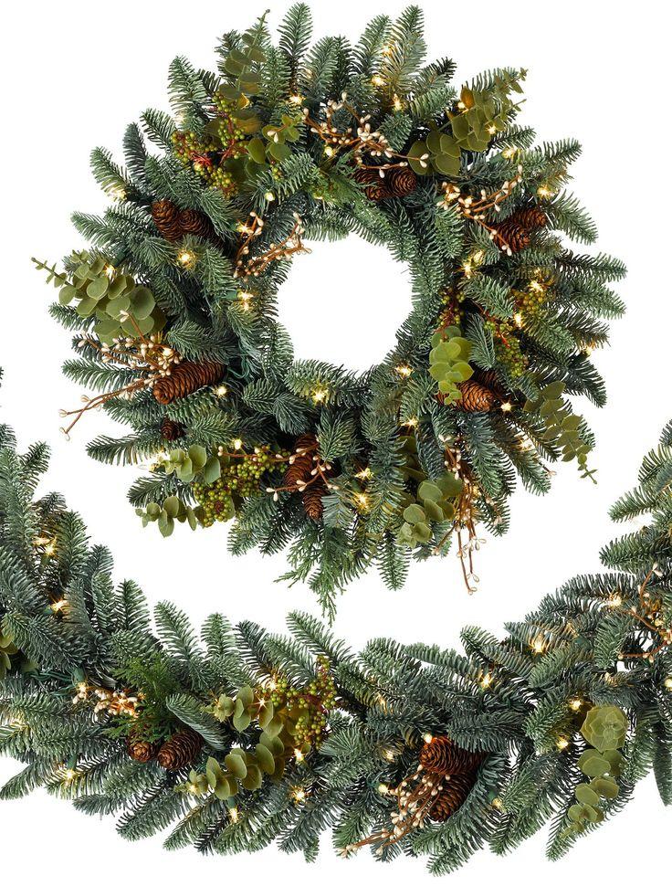 best 25 artificial christmas wreaths ideas on pinterest christmas wreaths artificial flowers for sale and diy christmas wreaths - Christmas Wreaths With Lights