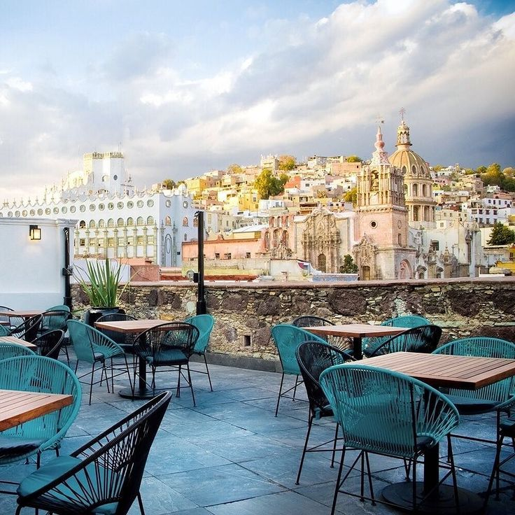 JS tip: Hit the rooftop terrace at Guanajuato's Edelmira Hotel for the best views in the city