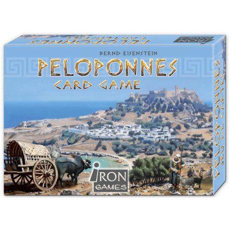 Iron Games Peloponnes Card Game, Multicolor