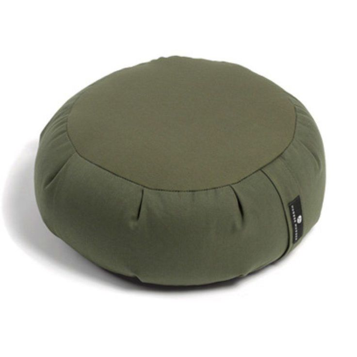 Hugger Mugger Zafu Yoga Meditation Cushion Olive - BO-ZAFU-CHOICE-OLIVE