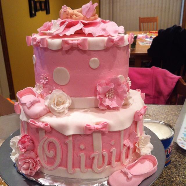 Custom cakes by Amber--baby shower ballerina cake: Baby Fondant, Amber Baby Shower, Celebration Cakes, Baby Creations, Baby Ideas, Shower Cakes, Ballerina Cakes, Shower Ballerina, Ballerina Shower