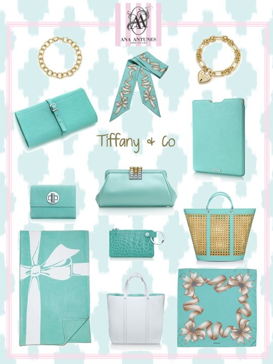 My Tiffany's blue moodboard