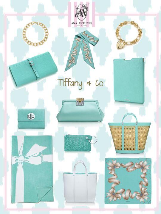 My Tiffany's blue moodboard