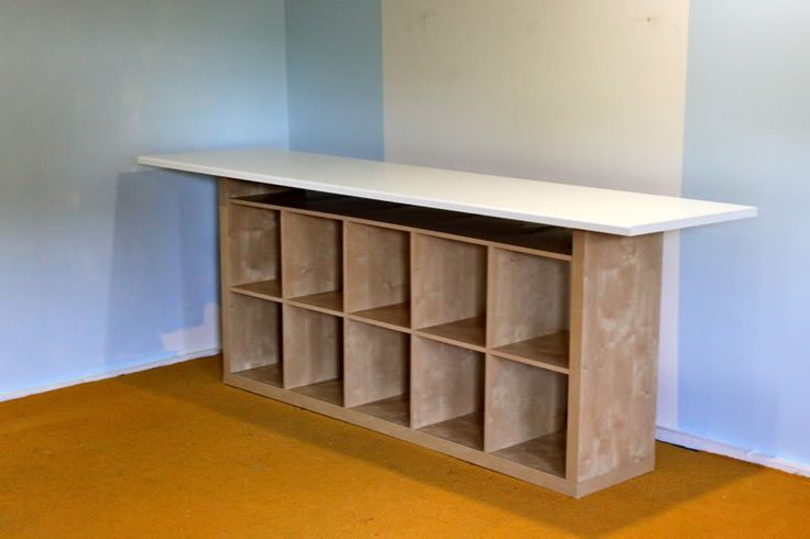 The Craft Room Redesign Project: DIY Sewing & Cutting Tables | Prudent Baby