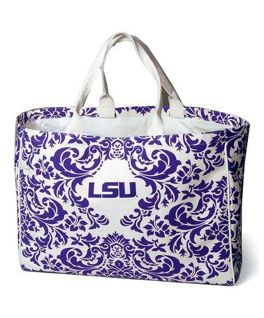 Loving this LSU Tigers City Tote on #zulily! #zulilyfinds