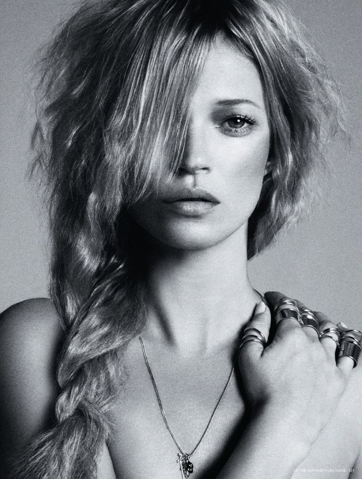 KATE MOSS BY DANIELE + IANGO FOR I-D PRE SPRING 2013