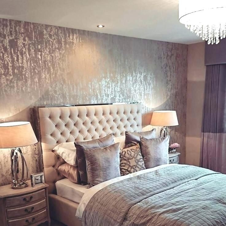 Pin By Jumana Mithqal Abomoghli On Wallpaper Ideas Grey Wallpaper Bedroom Master Bedroom Wallpaper Wallpaper Design For Bedroom