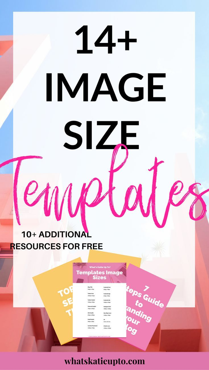 Download 14 Image Size Templates which will help your build your Blog & Website in Minutes! Access my Free Resource Library Now & start creating beautiful Image Templates NOW! | Blogging Tips, Image Templates, Free Template download, Blog Advice, Canva Templates |#bloggingtips#imagetemplates#freedownload#blogadvice|