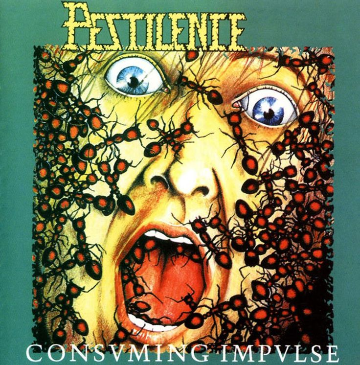 Pestilence! Great old school death/thrash metal band. This album has been one of my favorites for quite some time now!