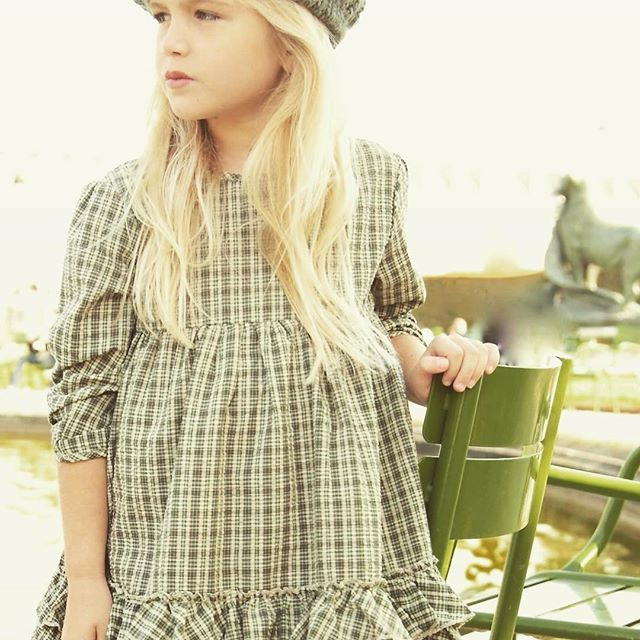From our Paris photoshoot! Beautiful in green. Order yours ONLINE @ BluPonyVintage.com #bluponyvintage #fashionmodel #wintercoat #winter #fall #magnoliamarket #plaid #dresses #girlsdresses #vintage #vintagestyle #ootd #picoftheday #paris #fountain #instagood #instagram #cubs #chicago #todayshow @todayshow @jessicaalba