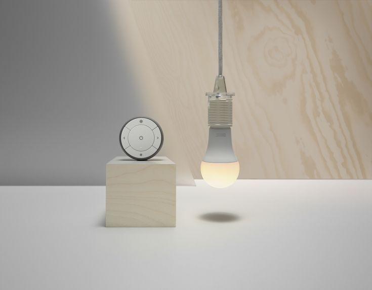 TRÅDFRI dimset   IKEA IKEAnl IKEAnederland slimme verlichting led led-verlichting duurzaam duurzaamheid lamp lampen inspiratie wooninspiratie interieur wooninterieur kamer woonkamer slaapkamer
