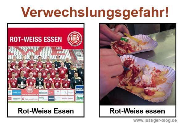 Verwechslungsgefahr Rot-Weiss Essen
