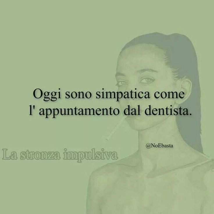 perché non vai dall'igienista dentale!