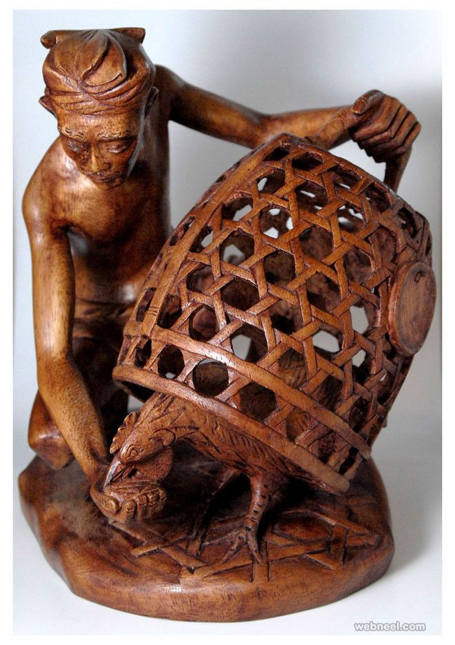 Best WoodcarvingHuman Figure Images On Pinterest Human - Taiwanese sculpture uses wood to create sculptures of people effected by pixelated glitches