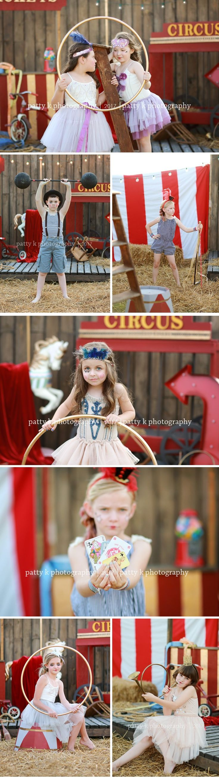 Circus Sessions | Greensboro, NC Photographer | Patty K Photography
