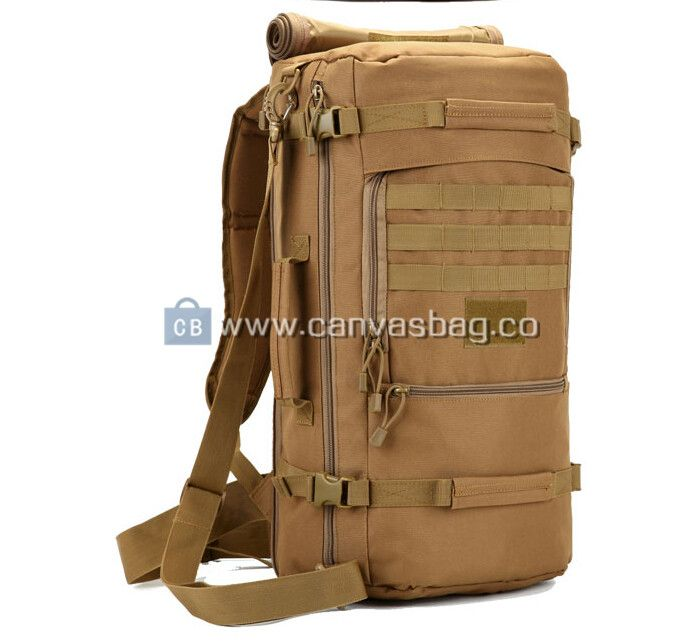 Army Rucksack Large Hiking Bag Canvas Bag