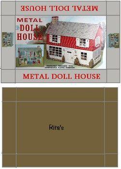 printable dollhouse box - j stam - Picasa Web Albums