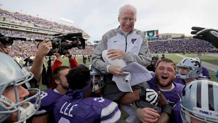 Once retired, Bill Snyder showing no signs of doing THAT again #FansnStars