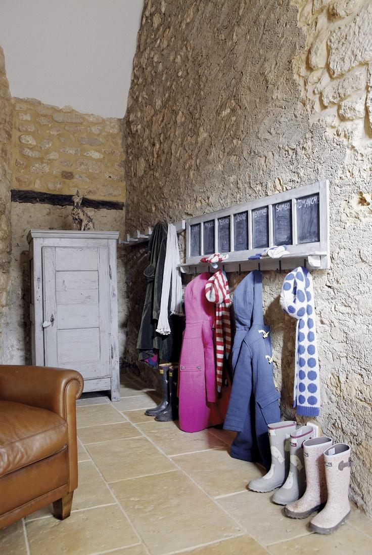 rustic mud room / french farmhouse via roses & rust