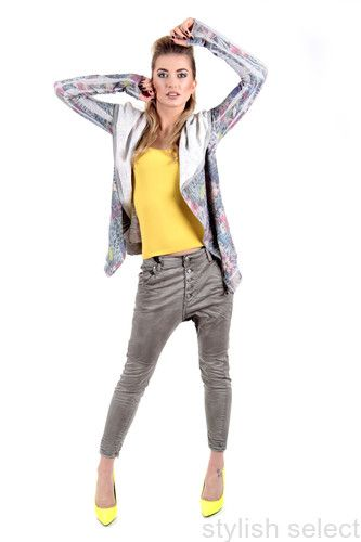 jeans Sexy Woman  Einstein baggy niski stan alladynki