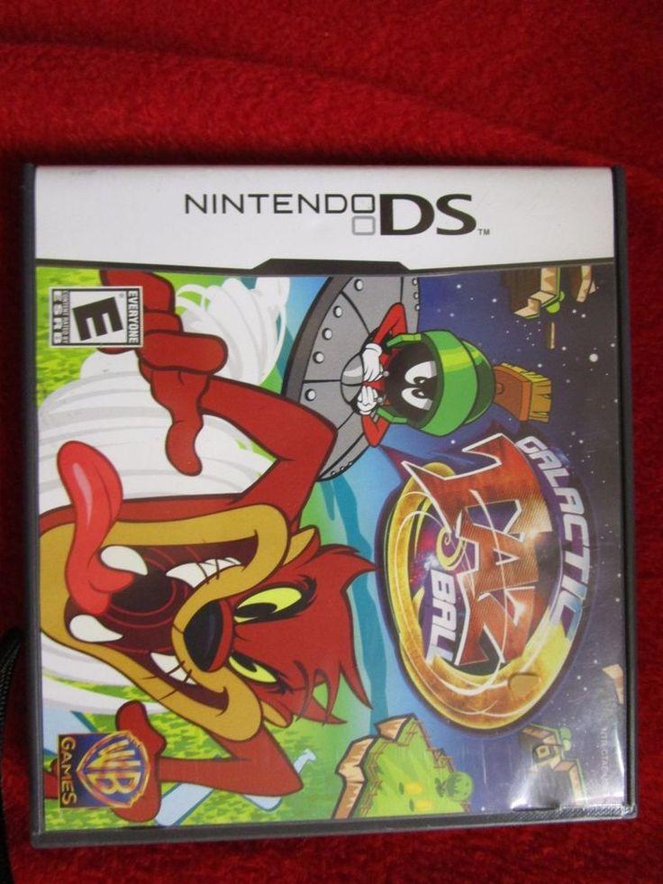 Galactic Taz Ball (Nintendo DS, DSI 2DS 3DS NDS XL) cartoon videogame