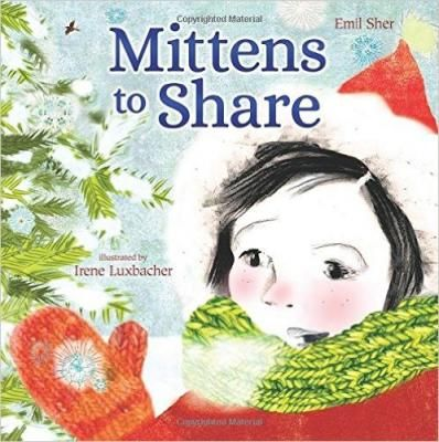 Mittens to Share! A cozy winter read to be shared again and again.The wonder of the winter season is brought to vivid life, in this deceptively simple tale, of a young girl who loses her mitten on a crisp, snowy day. Her disappointment is soon swept away, when she's back indoors looking for a new pair, exploring the colours, and textures of an overstuffed box of family mittens.