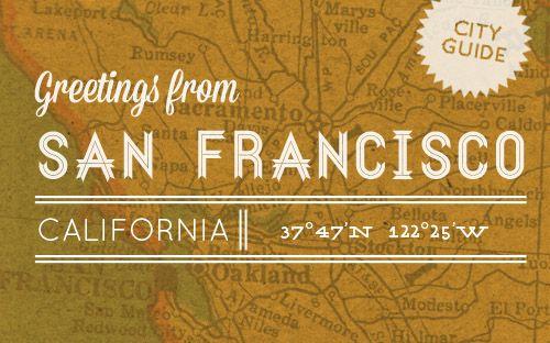 Design*Sponge Guide to San Francisco #travel #cityguide #sanfrancisco